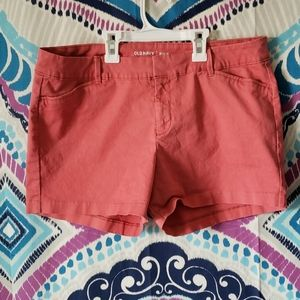 Old Navy Pixie Coral Obligation Shorts